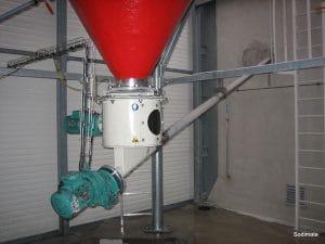 Powder activated carbon slurry preparation unit