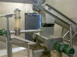 Doseur & injecteur de chaux vive alimentant le mélangeur bi vis MBV 150