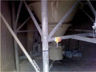 Installation après remplacement du fond vibrant défectueux par un dévouteur mécanique