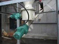 Hydrated lime silo unlaoder C/w feeder