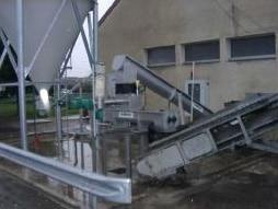 Unit of municipal sludge liming