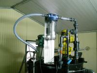 Lime slurry tank (flue gas treatment system for heavy metal removal)