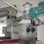 Mixer for sludge liming