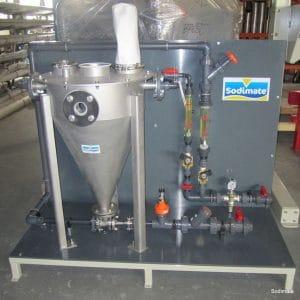 Skid hydroéjecteur microsable