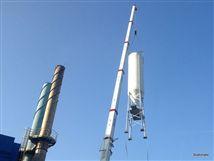 Mise en place d'un silo de stockage