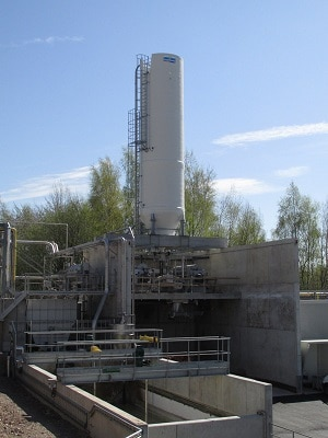Chaulage de boues industrielles en Belgique