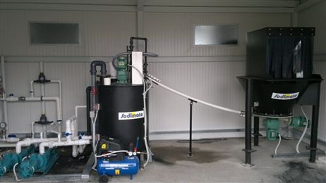 One More Water Treatment Plant Using The Sodimix System