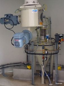Transfert charbon actif hydro-éjecteur