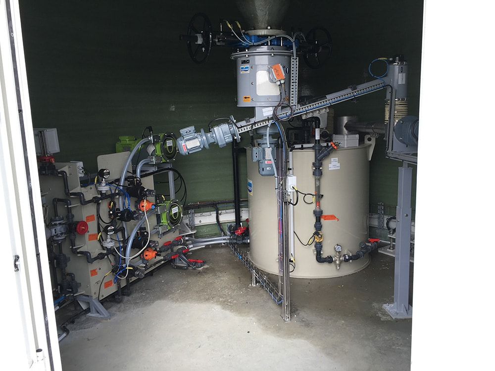 Activated Carbon solution Preparation System