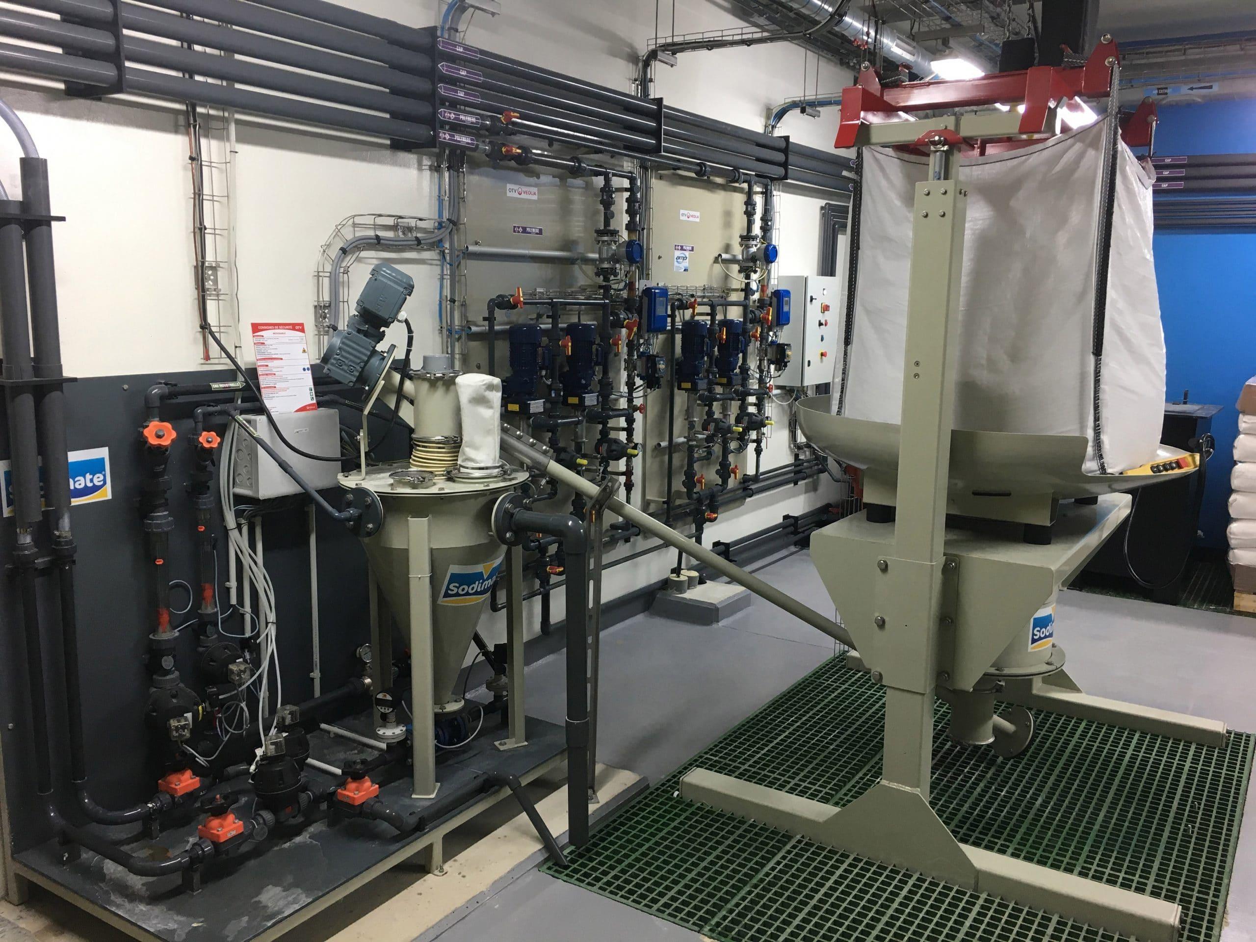 Hydro-éjecteur par injection en Big Bag