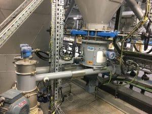 Système de dosage de chaux avec deux doseurs sous silo