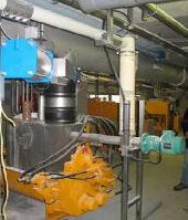 Lime injection into Piston pump