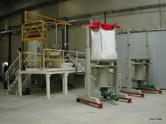 Powdered Activated Carbon/PAC bulk bag discharger