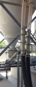 Twins feeders under silo