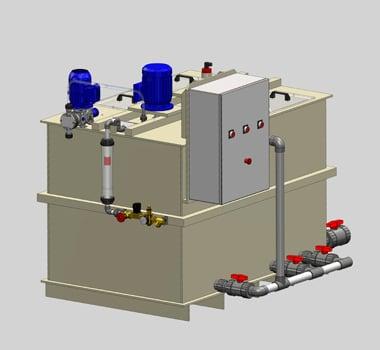Préparateur de polymères en émulsion